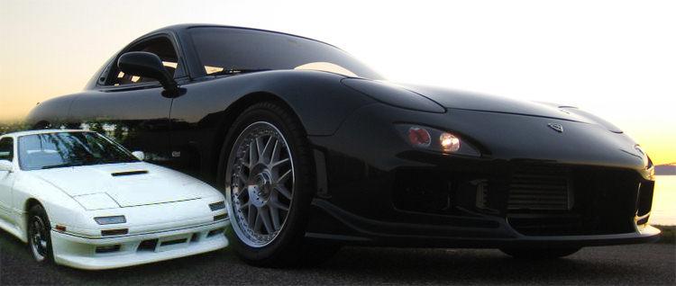 Uk Drifting Mazda Rx 7 Mx 5 Eunos Roadster Miata Drift Cars